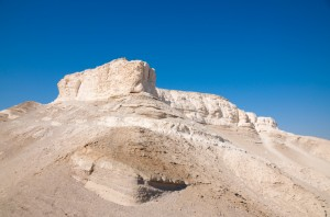 Mount Sodom near the Dead Sea
