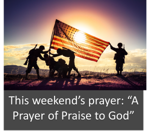 Facebook Template -This Weekend's prayer A Prayer of Praise to God