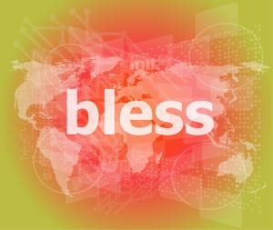 "Did you know that word for to ""bless"" is related to the Hebrew word for ""knee."""